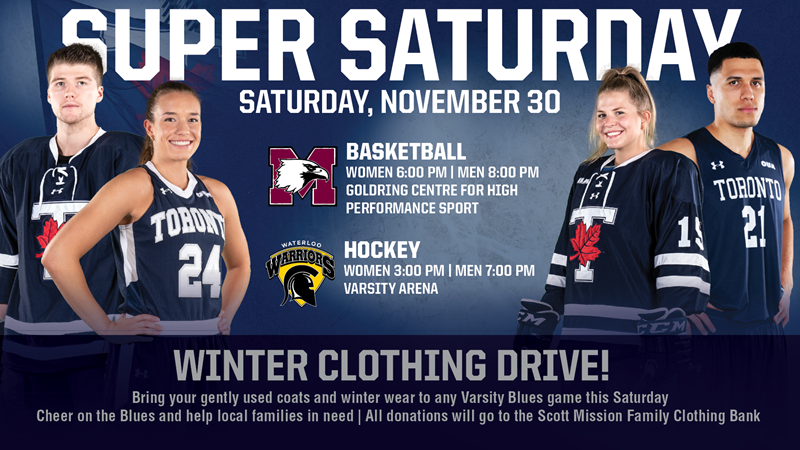 SUPPORT OUR WINTER CLOTHING DRIVE ON SUPER SATURDAY