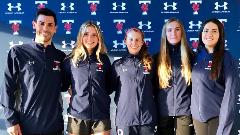 WOMEN'S SOCCER ANNOUNCES IMPRESSIVE 2019 RECRUITING CLASS