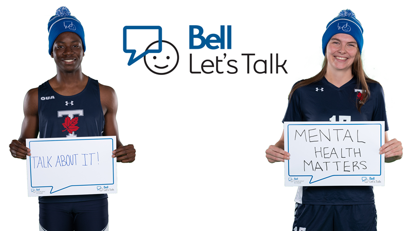 BLUES SET FOR 2020 BELL LET'S TALK DAY CAMPAIGN